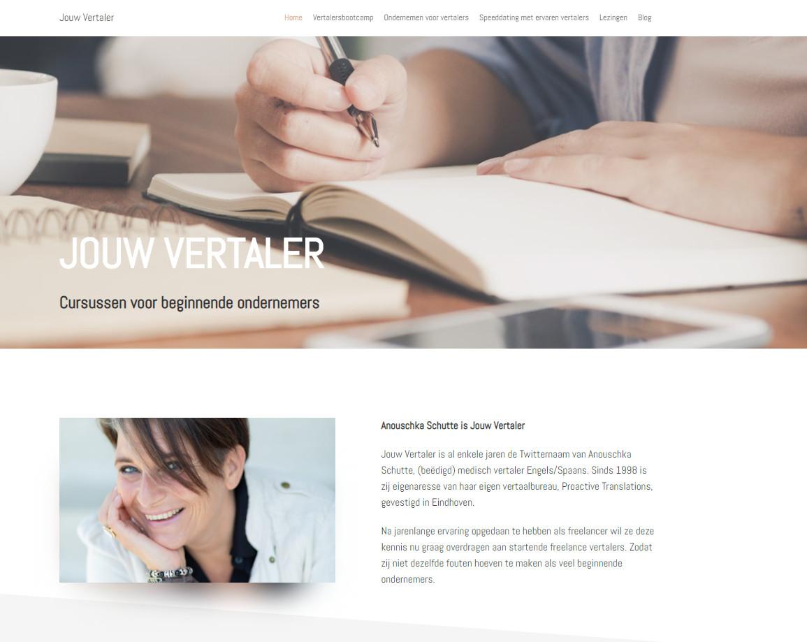 BeeWebdesign portfolio - Jouw Vertaler