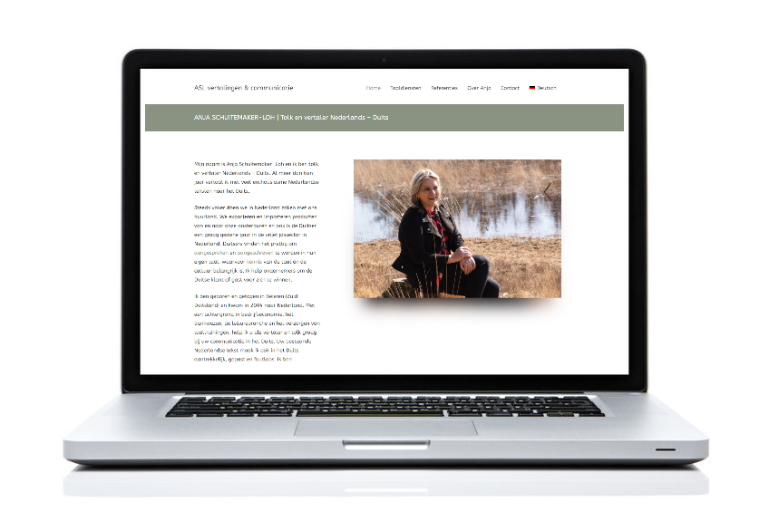 BeeWebdesign portfolio - ASL Vertalingen