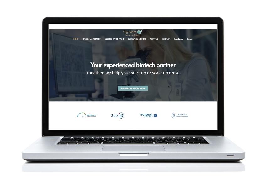 BeeWebdesign portfolio - Clouvance Consultancy
