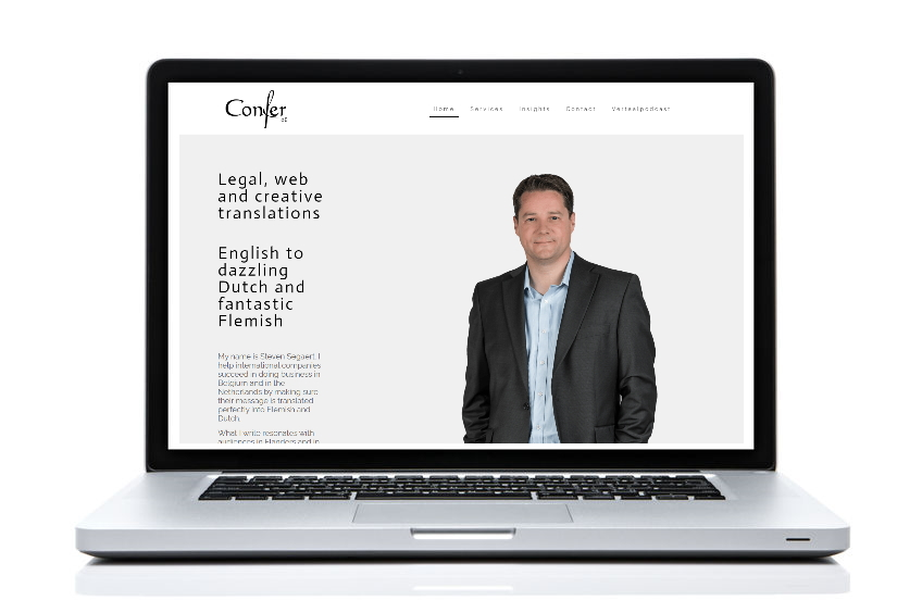 BeeWebdesign portfolio - Confer